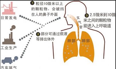 可吸入颗粒物检测